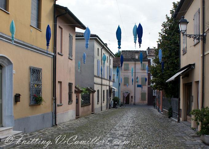 В рыбацкой деревне Чезенатико. Италия